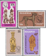 Nigeria 404-407 (kompl.Ausg.) Postfrisch 1982 Nigerianisches Nationalmuseum - Nigeria (1961-...)