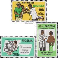 Nigeria 393-395 (kompl.Ausg.) Postfrisch 1982 Entdeckung Des Tuberkulose Erregers - Nigeria (1961-...)