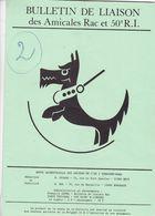 BULLETIN DE LIAISON DES AMICALES  RAC  ET 50 E  R. I.   OCTOBRE 1978,,, - Français