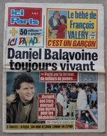 ICI PARIS  1986 Daniel BALAVOINE - People