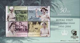 Cocos (Keeling) Islands 2004 Royal Visit Ovpt Sc 340b Mint Never Hinged - Cocos (Keeling) Islands