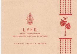 Invitation  Du L.P.P.D. Pour MASKEBAL à Kleinbettingen Du 09.03.1957 - Cartes Postales