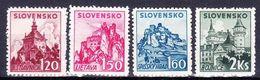 Slovaquie 1941 Mi 81-4  (Yv 54-7 ), (MNH)** - Slovaquie