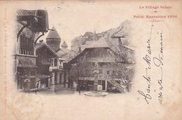 Village Suisse - Expo 1900 - UPU-Frankatur - 1900          (P-251-00331) - Exhibitions