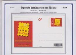 Speciale Briefkaarten 19-03-05 Belgica 2006  BK 128 - Illustrierte Karten
