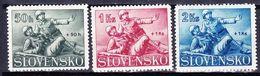 Slovaquie 1941 Mi 88-90  (Yv 58-60 ), (MNH)** - Slovaquie