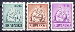 Slovaquie 1941 Mi 91-3  (Yv 61-3 ), (MNH)** - Slovaquie