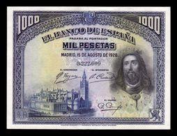 España Spain 1000 Pesetas San Fernando 1928 Pick 78 EBC/+ XF/+ - [ 1] …-1931 : Premiers Billets (Banco De España)