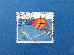 1990 AUSTRALIA FRANCOBOLLO USATO STAMP USED HANG GLIDING $ 1.20 - 1990-99 Elizabeth II