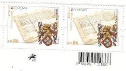 Portugal ** & CEPT Europa, Ancient Post Mail Routes 2020 (8022) - 1910-... République