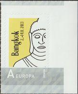 Norvège, Timbre Personnalisé. Bangkok 2013. Buddha / Bouddha. Tarif Pour L'Europe - Buddhism