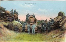 Chars D'Assault En Manoeuvre  -   CPA - War 1914-18