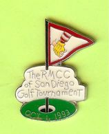 Pin's Mac Do McDonald's The RMCC Of San Diego Golf Tournament 1993 - 6D02 - McDonald's