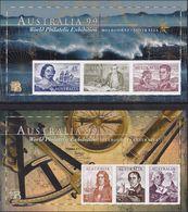 Australia 1999 World Philatelic Exhibition Sc 1727d-28d MNH ** Imperf - Mint Stamps