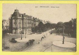 * Brussel - Bruxelles - Brussels * (Henri Georges, Nr 4435) Avenue Louise, Louizalaan, Oldtimer Car Voiture, Rare - Bruxelles-ville