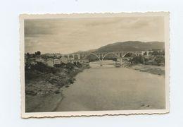 Spain, ORENSE, Galiza, Puentes, Real Photo 1951, 8.5 X 6 Cm.  ( 2 Scans ) - Places