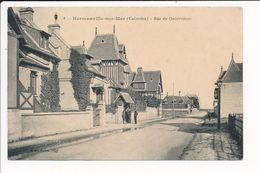 Carte D' HERMANVILLE SUR MER  Rue De Ouistreham ( Recto Verso ) - France