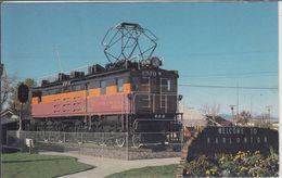 HARLOWTON - E57-B Electric Engine From Milwaukee Railroad, Train Locomotive - Etats-Unis
