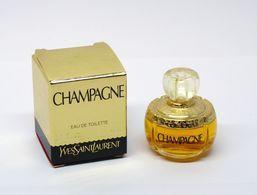 """Miniature De Parfum - YSL Yves SAINT LAURENT """"Champagne"""" Réplique - Eau De Toilette 4ml - Miniatures Femmes (avec Boite)"""