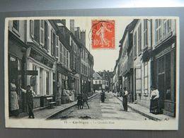 CORBIGNY     LA GRANDE RUE - Corbigny