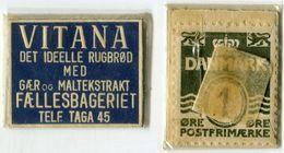 N93-0634 - Timbre-monnaie - Danemark - Vitana - 1 øre - Kapselgeld - Encased Stamp - Monétaires / De Nécessité