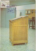 Carte Maximum PORTUGAL N°Yvert 1368 (ECRITURE MANUELLE) Obl Sp Ill 1981 - Cartes-maximum (CM)