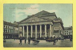 * Brussel - Bruxelles - Brussels * (Grand Bazar De La Rue Neuve) Théatre Royal De La Monnaie, Muntschouwburg, Animée - Bruxelles-ville