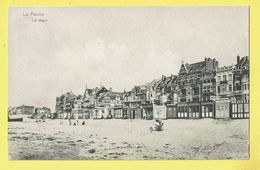 * De Panne - La Panne (Kust - Littoral) * (D.T.C. Anvers, Pan 8) La Digue, Dijk, Plage, Beach, Strand, Sable, Cabines - De Panne