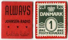 N93-0638- Timbre-monnaie - Danemark - Always - Johnsen-Radio  - 1 øre - Kapselgeld - Encased Stamp - Monétaires / De Nécessité