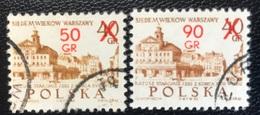 Polska - Poland - Polen - P1/1 - (°)used - 1972 - 700 Jaar City Warchau - Michel Nr. 2209#2210 - 1944-.... Republik