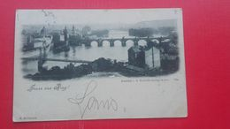 Gruss Aus Prag(Praha).Ansicht V.d.Rudolfs-Anlagen Aus - República Checa