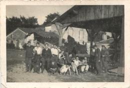 PHOTO ORIGINALE  CASSENEUIL 1940 SOLDATS  10 X 6.50 CM - War, Military