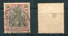 Deutsches Reich Michel-Nr. 61 Gestempelt - Used Stamps