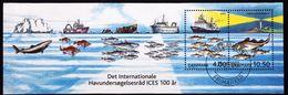 Denmark 2002   .  MiNr.1316-17  Block 19      (O) ( Lot Mappe) - Danemark