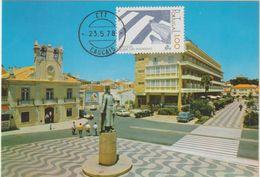 Carte Maximum PORTUGAL N°Yvert 1377 (PASSAGES CLOUTES) Obl Sp Cascais 1978 - Cartes-maximum (CM)