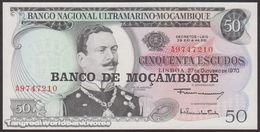 TWN - MOZAMBIQUE 116a - 50 Escudos 27.10.1970 (1976) Prefix A UNC - Mozambique