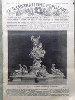 L'illustrazione Popolare 11 Agosto 1889 Monumenti Valle D'Aosta Montagne Parigi - Avant 1900