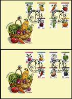 Belarus 2020 Set 2 FDC Definitives Flora  Vegetables Legumes - Vegetables