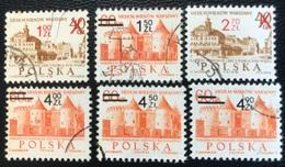 Polska - Poland - Polen - P1/1 - (°)used - 1972 - 700 Jaar City Warchau - Michel Nr. 2195#2200 - 1944-.... Republik