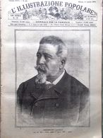 L'illustrazione Popolare 18 Agosto 1889 Morte Benedetto Cairoli Massaja Parigi - Avant 1900