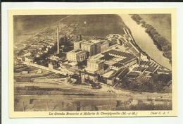 54 . CHAMPIGNEULLES . Les Grandes Brasseries Et Malteries ; Vue Generale AERIENNE - Andere Gemeenten