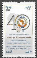 EGYPT, 2020, MNH, POST, PAN AFRICAN POSTAL UNION, 1v - Post