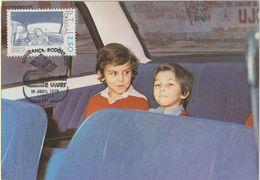 Carte Maximum PORTUGAL N°Yvert 1379 (TRANSPORT DES ENFANTS) Obl Sp Ill 1er Jour 1978 - Cartes-maximum (CM)