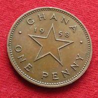 Ghana 1 Penny 1958 Gana - Ghana
