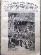 L'illustrazione Popolare 25 Agosto 1889 Regina A Gressoney Elettricità Auckland - Avant 1900