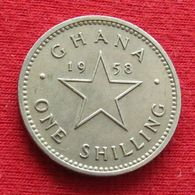 Ghana 1 Shilling 1958 Gana - Ghana