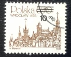 Polska - Poland - Polen - P1/1 - (°)used - 1981 - Poolse Steden - Michel Nr. 2817 - Gebraucht