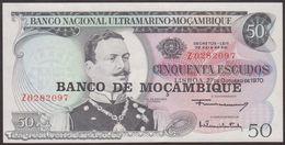 TWN - MOZAMBIQUE 116a - 50 Escudos 27.10.1970 (1976) Replacement Z UNC - Moçambique