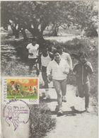 Carte Maximum PORTUGAL N°Yvert 1387 (COURSE A PIED) Obl Sp Ill 1981 - Cartes-maximum (CM)