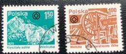 Polska - Poland - Polen - P1/1 - (°)used - 1979 - Wieliczka Salt Mine - Michel Nr. 2638#2639 - 1944-.... Republik
